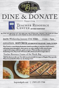Hop Creek Dine and Donate 2019